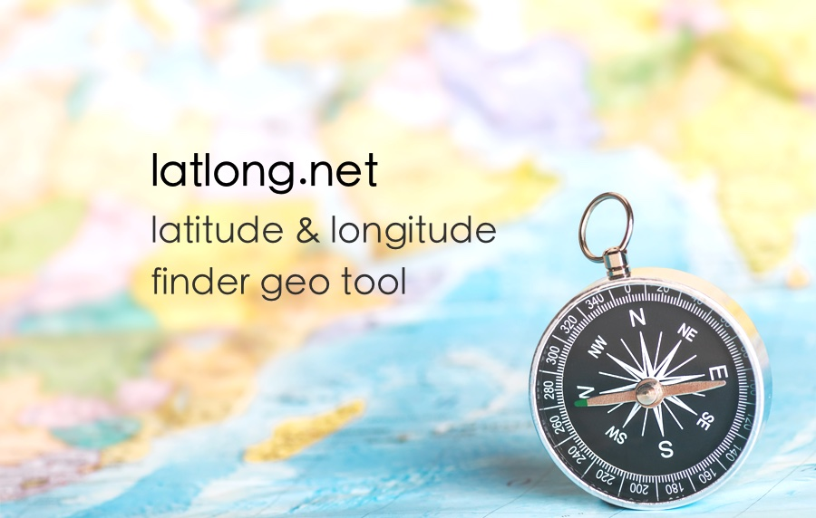 Latitude and Longitude Finder on Map Get Coordinates